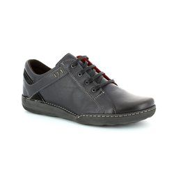 Relaxshoe Comfort Lacing Shoes - Navy - CALYPSO 21512/47