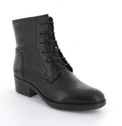Relaxshoe Boots - Ankle - Black - GINOLI 46411/30
