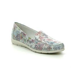 Remonte Comfort Slip On Shoes - Floral print - D1919-90 AERFLO