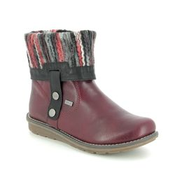 Remonte Boots - Ankle - Wine - R1071-35 ASTRISHFOLD TEX