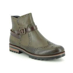 Remonte Chelsea Boots - Green - R2278-54 CHELSEA ZIG 85