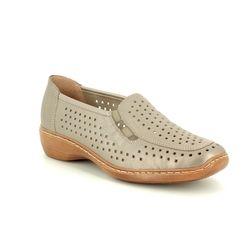 Remonte Comfort Shoes - Light taupe - D1635-92 DORLAS