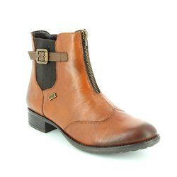 Remonte Boots - Ankle - Chestnut Brown - R6451-24 HISPATEX