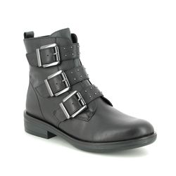 Remonte Ankle Boots - Black leather - R4973-01 JESSYGRUN