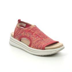 Remonte Walking Sandals - Orange - R2955-38 LENIASLIP