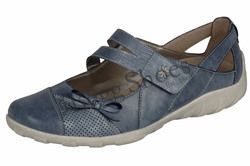 Remonte Mary Jane Shoes - Denim blue - R3428-14 LIVBAR