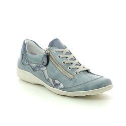 Remonte Comfort Lacing Shoes - Denim blue - R3416-14 LIVTEXT