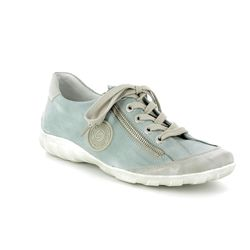 Remonte Comfort Lacing Shoes - Denim blue - R3443-10 LIVZIP 81