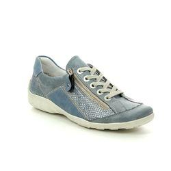 Remonte Comfort Lacing Shoes - Denim blue - R3419-17 LIVZIPA 91