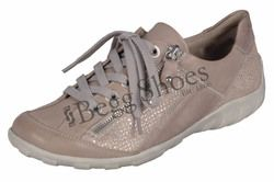Remonte Comfort Lacing Shoes - Pink - R3419-31 LIVZIPA