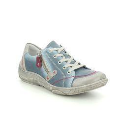 Remonte Comfort Lacing Shoes - Denim - D3808-12 LUVLACE