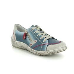 Remonte Comfort Lacing Shoes - Denim multi - D3808-12 LUVLACE