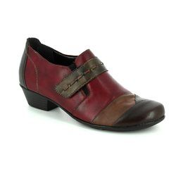 Remonte Heeled Shoes - Wine multi - D7304-35 MILLMULT