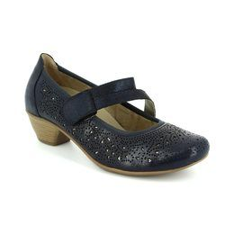 Remonte Court Shoes - Navy - D5006-14 MILLSTRAP
