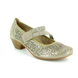 Remonte Court Shoes - Taupe multi - D5006-42 MILLSTRAP