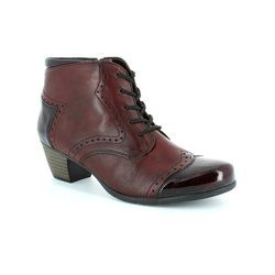 Remonte Boots - Ankle - Dark Red - R9170-35 MURLACE