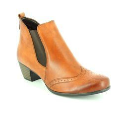 Remonte Boots - Ankle - Tan - R9187-05 MURLO