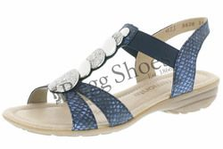Remonte Sandals - Navy multi - R3638-14 ODEON