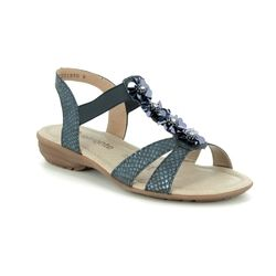 Remonte Comfortable Sandals - Navy - R3633-14 ODLEAF