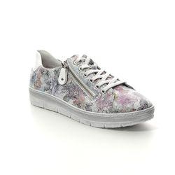 Remonte Comfort Lacing Shoes - Floral print - D5800-93 RAVENNA