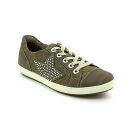 Remonte Comfort Lacing Shoes - Pewter - D9105-42 STAR