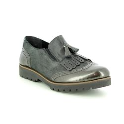 Remonte Brogues - Dark Grey - D0114-45 WONDERBRO