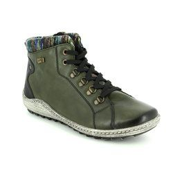 Remonte Boots - Ankle - Green - R1473-53 ZIGCOLL TEX