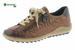 Remonte Comfort Lacing Shoes - Tan - R4703-22 ZIGGY TEX