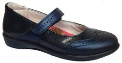 Ricosta Girls Shoes - Navy patent - 85203/173 BECKY