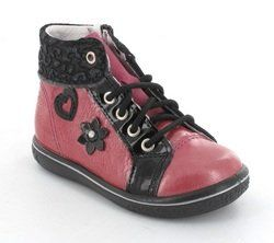 Ricosta Girls 1st Shoes & Prewalkers - Raspberry pink - 25217/323 CHILBIE