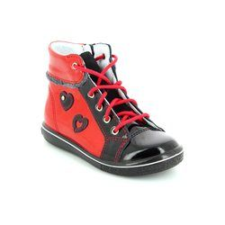 Ricosta 1st Shoes & Prewalkers - Red multi - 25217/357 CHILBIE