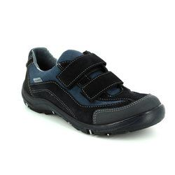 Ricosta Boys Shoes - Navy multi - 67350/170 NEPO TEX