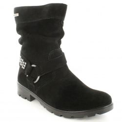 Ricosta Girls Boots - Black suede - 72213/093 RAQUEL TEX