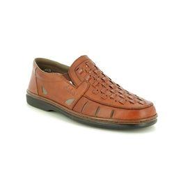 Rieker Casual Shoes - Tan - 12389-24 STEFAN