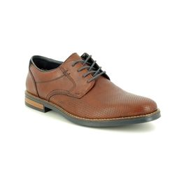 Rieker Brogues - Tan - 13511-24 ADAMPERF