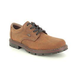 Rieker Casual Shoes - Tan - 17710-26 MITCHUM TEX