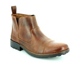 Rieker Boots - Brown - 36050-26 RONCAP