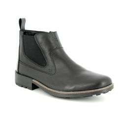 Rieker Boots - Black - 36062-00 RONNIE