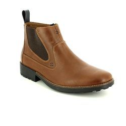 Rieker Boots - Brown waxy - 36062-25 RONNIE