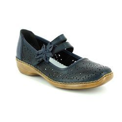 Rieker Everyday Shoes - Navy - 41372-14 DORISBAR