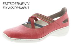 Earth Spirit Cleveland 28050 80 Red Closed Toe Sandals