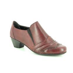 Rieker Shoe Boots - Wine - 41730-35 SARBRO 52