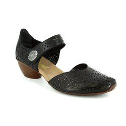 Rieker Comfort Shoes - Black - 43711-00 MIROPI