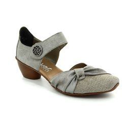 Rieker Everyday Shoes - Light taupe multi - 43721-41 MIROP