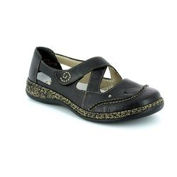 Rieker Comfort Shoes - Black - 46335-00 DAISBACK