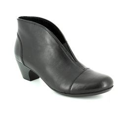 Rieker Boots - Ankle - Black patent - 50553-00 SARBOTOOL
