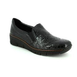 Rieker Everyday Shoes - Black - 53766-45 BOCCIAGO