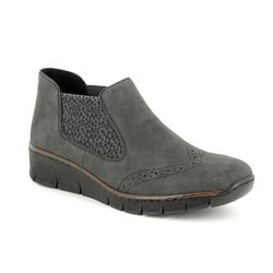 Rieker Chelsea Boots - Grey - 537Z3-45 BOCCILEP