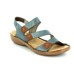Rieker Sandals - Denim multi - 60839-12 REGITRI