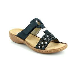 Rieker Sandals - Navy - 60871-14 REGINASTI